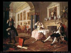 William Hogarth: Matrimonio alla moda
