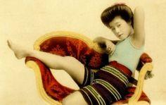 Geisha Swimsuit Rare Vintage Swimsuit Photos Of Geisha