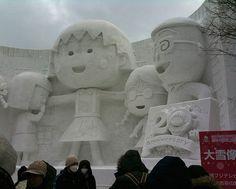 sapporo_snow_14 Maruko my fav.childhood cartoon ♡♥♡