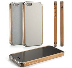 White Backplates Aluminum Element Case for iPhone 5/6 RONIN iPhone 5 Case 2015 - Genuine Case - iPhoneProtectiveCases.com
