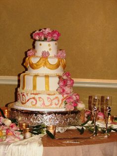 Elegant Italian Wedding Pastry Shop, Specialty Cakes, Celebration Cakes, Fairytale, Cross Stitch Patterns, Wedding Cakes, Birthday Cake, Elegant, Simple