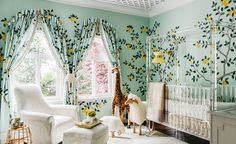 Dina Bandman, principal at Dina Bandman Interiors, San Francisco, was the creative force behind this unique nursery space. Dina is giving us the behind-the-scenes scoop on her stunning lemon drop nursery.
