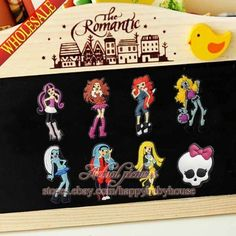 ☠☩☠ Monster High Magnets ☠☩☠