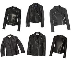 #budget friendly leather bikers on Currently Seeking! #leatherjacket #theory #madewell #topshop #therealreal #theoutnet #muubba