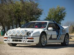 "One of only 24 Evos built Desirable homologation Group B rally car Long-standing Guinness record for ""fastest accelerating car in the world"" . Beach Buggy, Manx, Dream Machine, Car Ford, Rally Car, Car In The World, Race Cars, Evolution, Arizona"