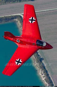 Gusto por la BUENA Aviación... La ALEMANA..!! por SIEMPRE::!!! Messerschmitt Me-163B-1a Komet Replica