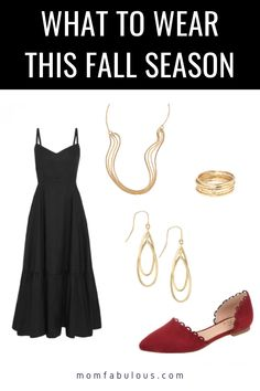 Need outfit ideas for your next date? Slip on this Little Black Dress, add a pair of Wear-Anywhere Flats and some chic Minimalist Jewelry for the perfect date night look. #MomLife #MomFabulous #fashion #fallfashion #OOTD Fashion 101, Fashion Bloggers, Love Fashion, Fashion Outfits, Holiday Style, Holiday Fashion, Autumn Winter Fashion, New Years Outfit, Girls Slip