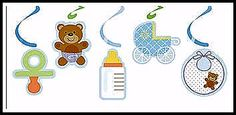 Hey, I found this really awesome Etsy listing at https://www.etsy.com/listing/198156183/baby-boy-shower-hanging-decorations-set