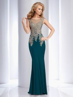 Clarisse 4507 Forest Green at Rsvp Prom and Pageant, your source for 2016 Prom and Pageant Dresses! Mother Of Groom Dresses, Mothers Dresses, Pretty Dresses, Beautiful Dresses, Pageant Dresses, Formal Gowns, Dress Formal, Evening Dresses, Long Dresses