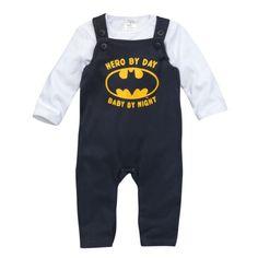 Batman Newborn-Strampler und Langarmshirt von Topomini für Jungen bei Ernstings family online einkaufen
