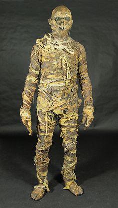 Full body decaying mummy costume