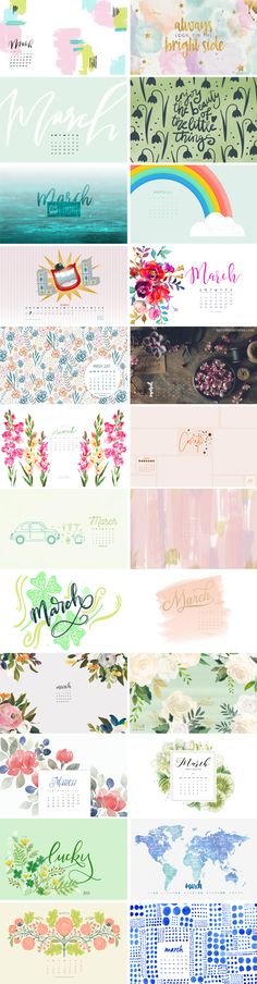 March 2017 – Wallpaper Round-Up