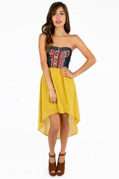 Santana+Strapless+Dress+%2462+at+www.tobi.com