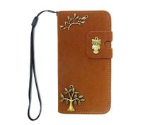 iPhone 5 wallet caseTree iPhone caseOwl iPhone 5 by jason118, $15.88