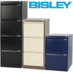 Bisley BS Filing Cabinets - Bisley filing cabinets are built to last. Buy with confidence with a 10 year guarantee from a world renowned UK manufacturer. Free UK mainland delivery on Bisley BS Filing Cabinets. Filing Cabinets, Locker Storage, Study, Furniture, Home Decor, Studio, Decoration Home, Room Decor, Home Furnishings