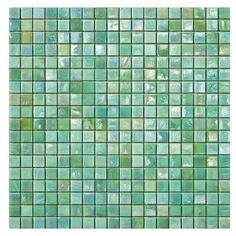 #Sicis #Iridium Mint 2 1,5x1,5 cm | #Vetro di #Murano | su #casaebagno.it a 242 Euro/collo | #mosaico #bagno #cucina
