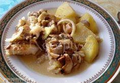 Pikantní rybí filé s hlívou ústřičnou 20 Min, Sushi, Meat, Chicken, Food, Essen, Meals, Yemek, Eten