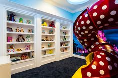 An incredible Mickey Mouse playroom. Great for bedroom makeover inspiration.
