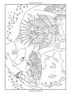 Body Art: Tattoo Designs Coloring Book (Dover… (Paperback