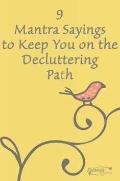 When organizing your home, it can get frustrating and downright overwhelming. To stay focused and motivate you to keep going, I created these personal mantras to help you keep moving through the clutter to the lighter side of a home organization process. Say your favorite mantra first thing in the morning, while starting your organizing process...Read More
