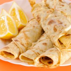 Finnish Pancakes--A Danish friend made these for me once, and they are WONDERFUL! You can fill them with eggs and meat for a savory meal or with mangoes and ice cream for a sweet treat...the possibilities are endless!