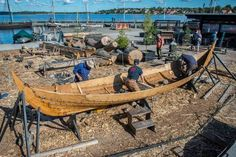 After a long and busy summer season at the boatyard, approaching the Viking Ship Museum is now the end of the open-source project with the building of Gislinge boat.