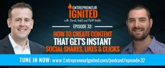 How To Create Content That Get's Instant Social Shares, Likes & Clicks with Matt Wolfe