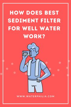 Well water can contain impurities like heavy metals (fluoride, arsenic, lead) and even Microorganisms, bacteria, viruses #Sediment Filter #sediment water filter #whole house sediment filter #water filter #water filter system #best water filter Best Water Filter, Microorganisms, Water Well, Most Powerful, Heavy Metal, Metals, Filters, Wellness, House