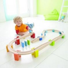 HABA My First Ball Track- LOVE for when she's older. Alternative to a train set