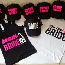 Bride  TeamBride  Kitdespedida  gorra  playera  termos  despedida  soltera   835f9b56a065b