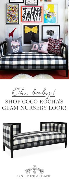 We jumped at the chance to design a nursery for supermodel Coco Rocha's new baby girl. We share our favorite rules of thumb and suggestions for making the baby's room as stylish as anywhere else in the house. Dive into Coco's imaginative nursery, and shop pieces you'll want to keep long after the diaper era.