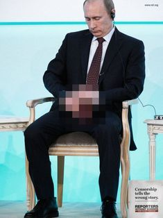 Reporters Without Borders: Censorship tells the wrong story, Putin