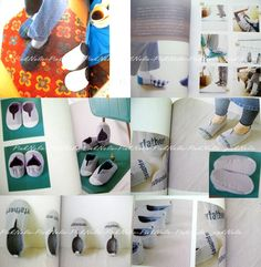 Make your own room shoes Japanese Craft Book by PinkNelie on Etsy