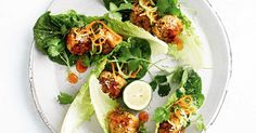 Looking for fabulous finger food? Try our Thai-style meatball lettuce cups - they're gluten-free too!