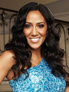 Melissa Gorga. A beautiful woman with a hot husband who went after her dream of being a singer. I also like her and Teresa's style.