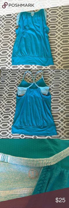 lululemon athletica No Limits Tank No piling, like new. Smoke and pet free home. It didn't fit me. My loss is your gain!  Bundle and save  lululemon athletica Tops Tank Tops