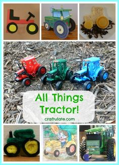 All Things Tractor! - crafts and activities for kids
