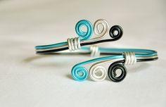 Wirewrapped bracelet, Adjustable cuff, Steampunk bracelet, Quirky bracelet £10.00