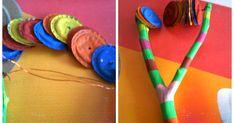Prepare algunos instrumentos musicales con material reciclable, les dejo estos 4 que he hecho y que Enmanuel ha disfrutado, sobre todo la ... Music For Kids, Diy For Kids, Crafts For Kids, Activities For Kids, Music Instruments Diy, Homemade Instruments, Upcycled Crafts, Diy And Crafts, Arts And Crafts