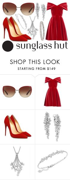 """""""Celebrate in Every Shade with Sunglass Hut: Contest Entry"""" by sgfrost98 ❤ liked on Polyvore featuring Dolce&Gabbana, Emilio De La Morena, Effy Jewelry, Swarovski and Ross-Simons"""