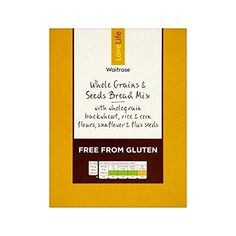 Gluten Free Seeded Bread Mix Waitrose Love Life 410g  Pack of 2 * Read more reviews of the product by visiting the link on the image.(This is an Amazon affiliate link and I receive a commission for the sales)