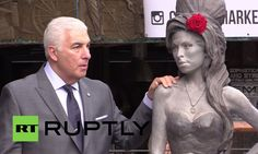 Statue to 'superb bird' Amy Winehouse unveiled in London: http://youtu.be/ACMXgjmXpfc