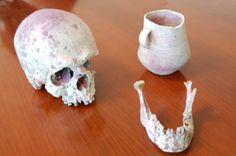 Archäologische Funde werden mittels 3D - Druck für Ausstellungen dupliziert