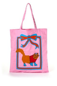 THE JACKSONS*SLOBE CAT TOTE