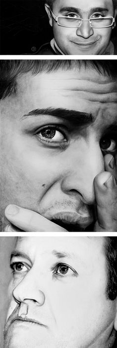 Hyper-Realistic Drawings by Diego Fazio