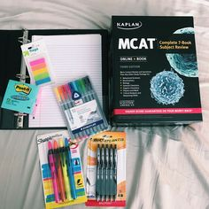 preparing to study for the mcat