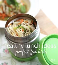 Are you running out of healthy lunch ideas for your little ones? We're here to help! To make it easier for you, we compiled a list of our recipes that are great for school lunches.