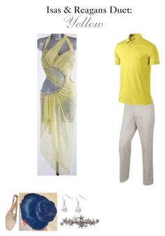 """0419. Isas & Reagans Duet"" by hiimmichelle on Polyvore featuring NIKE, Bloch, claire's and Cara"
