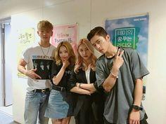K.A.R.D - BM, Somin, Jiwoo and J.Seph