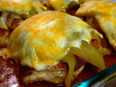Hatch Green Chile Baked Chicken